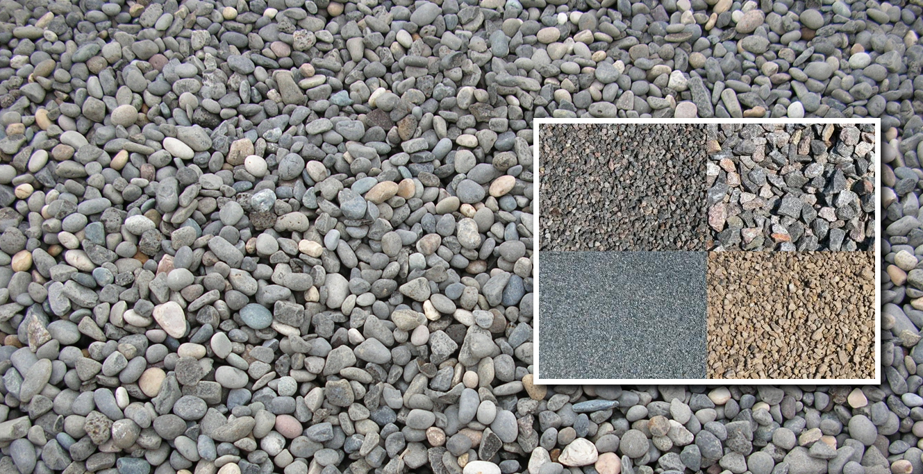 Aggregate Materials Available